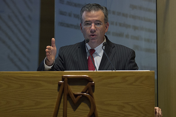 Alejandro Díaz de León, gobernador del Banco de México. FOTO: CUARTOSCURO