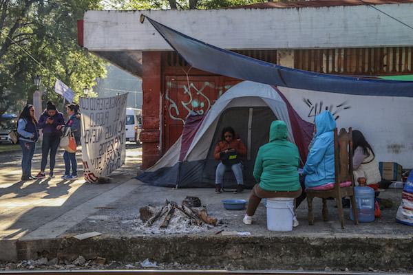 l PRÁCTICA. La CNTE mantiene el bloqueo, que en 2018 causó daño a las ferroviarias por 540 mdp. FOTO: JUAN JOSÉ ESTRADA SERAFÍN /CUARTOSCURO.COM