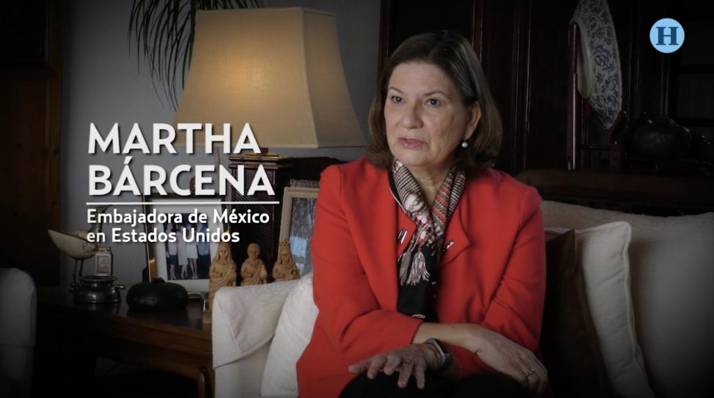 México y EU no se explican uno sin el otro: Martha Bárcena