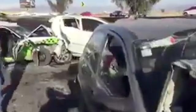 Piden manejar con precaución.FOTO: TOMADA DE VIDEO