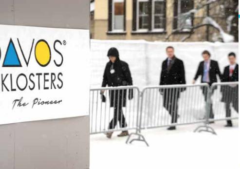 La cumbre de Davos, sin líderes