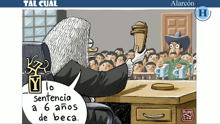 Tal Cual: Sentenciado a 6 años de beca