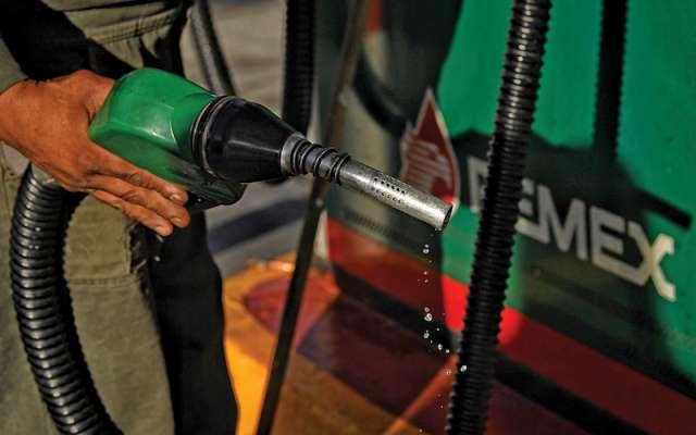 El desabasto de gasolina durante enero en algunos puntos de la CDMX. FOTO: ESPECIAL