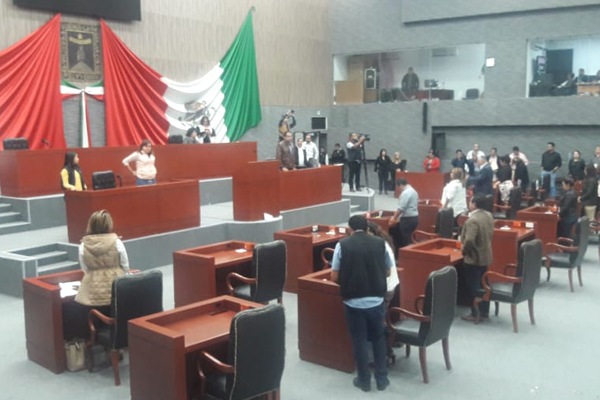 Rechazaron la propuesta de Ley de Ingresos y Presupuesto de Egresos que presentó el Poder Ejecutivo. FOTO: ESPECIAL