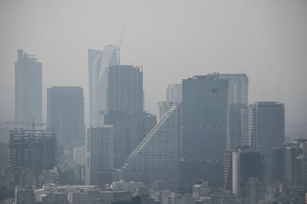 Hay partículas PM10 en la Zona Noreste del Valle México. FOTO: CUARTOSCURO