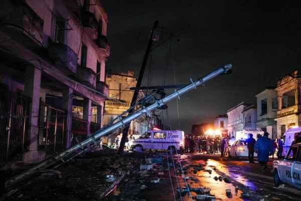 Otros barrios afectados de la capital fueron Santos Suárez, Vía Blanca y Chibás. Foto: AFP