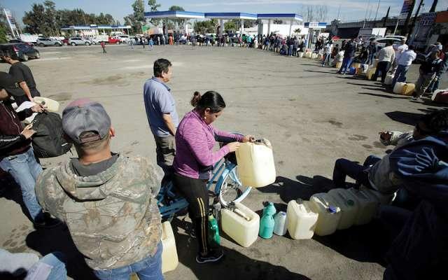 Resultado de imagen para desabasto de combustible mexico