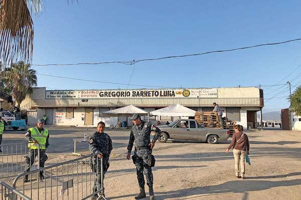 Casi seis mil migrantes llegaron a Tijuana con la Caravana Migrante. Foto: Ana Gómez / El Heraldo de México.