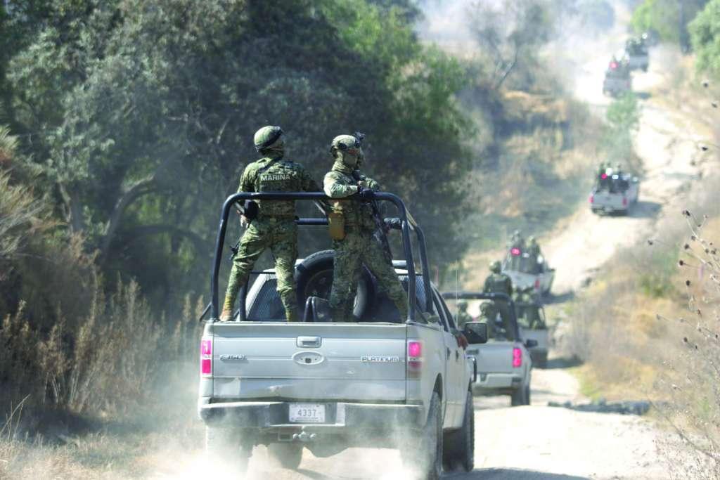 La Semar trabaja con la Sedena, Policía Federal y el Gobierno del Estado, apoyados por la SSP. FOTO: ARCHIVO/ CUARTOSCURO