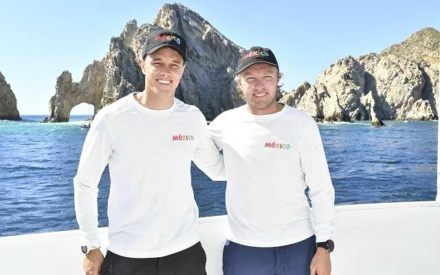 Yanic Gentry y Erik Brockmann. FOTOS: JDS AGENCIA