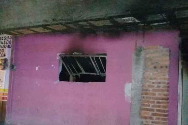 El reporte del Gobierno municipal señaló que el incidente se registró minutos antes de la media noche. Foto:Gabriela Montejano