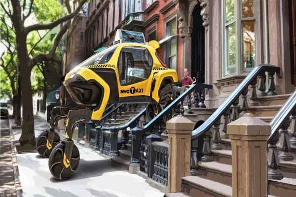 El prototipo podría ayudar a personas con personas que viven con discapacidades y que no tienen acceso a una rampa. Foto: Hyundai