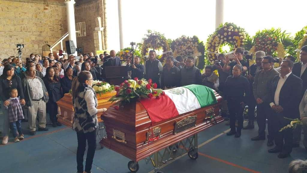 Realizan un homenaje de cuerpo presente. FOTO: CUARTOSCURO
