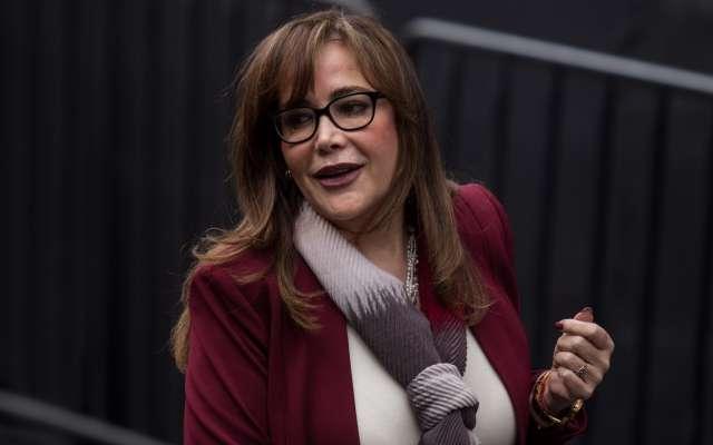 La dirigente nacional de Morena, Yeidckol Polevnsky FOTO: ARCHIVO/CUARTOSCURO