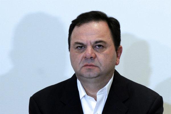 Poco antes, el líder del PAN, Marko Cortés, también expresó el apoyo para Rodríguez Almeida Foto: Cuartoscuro