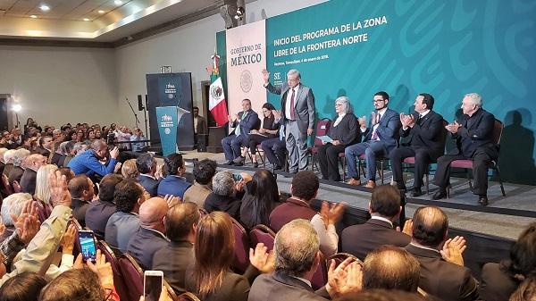 En esta ciudad el mandatario dará inicio al programa de la Zona Libre de la Frontera Norte. Foto: Especial
