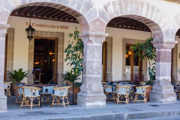 La Conspiración de 1809 se encuentra dividido en dos secciones: la cantina y el restaurante. Foto: Especial