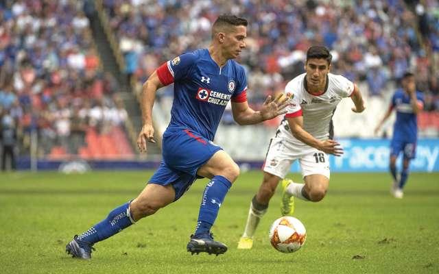 Foto del partido Cruz Azul vs Lobos BUAP correspondiente a la jornada 16 del torneo Apertura 2018 de la Liga BBVA Bancomer realizado en el estadio Azteca. FOTO: MEXSPORT