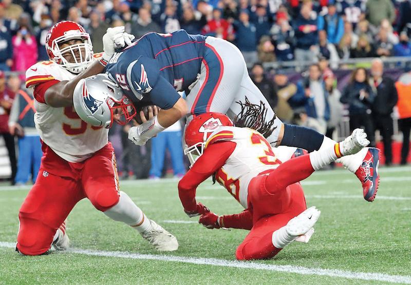 Ese es uno de los objetivos de los Chiefs frente a Tom Brady. FOTO: AP