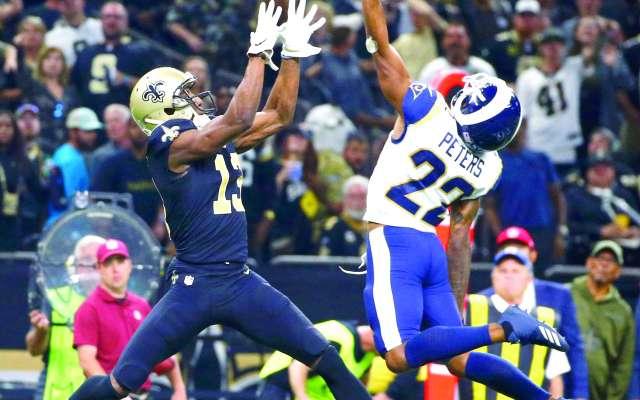 En la temporada regular, los Saints vencieron a los Rams; hoy la historia podría ser diferente. FOTO: AP