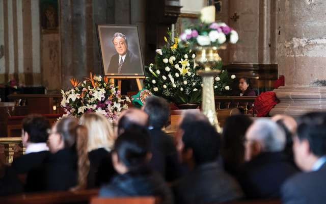 La ceremonia se llevó a cabo en la Antigua Basílica de Guadalupe. FOTO: EDGAR LÓPEZ