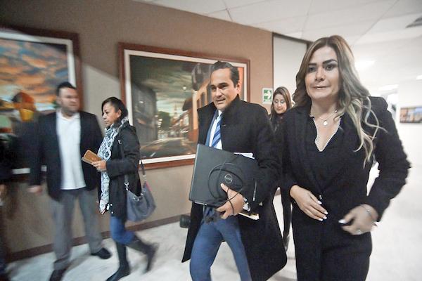 AVANCE. Ayer se reanudó la audiencia en la que compareció Winckler. FOTO: ALBERTO ROA /CUARTOCURO.COM
