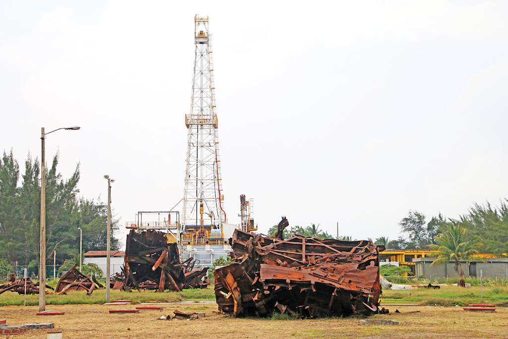 La secretaria de Energía, Rocío Nahle, dijo que las refinerías del país están abandonadas. Foto: Cuartoscuro