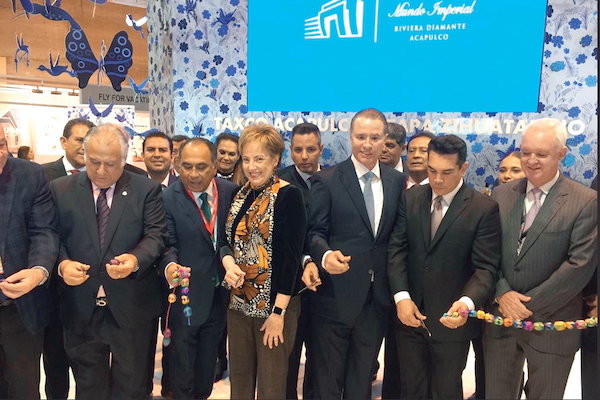 PRESENCIA. Funcionarios de México están de gira en la Feria Internacional de Turismo (Fitur). Foto: Especial