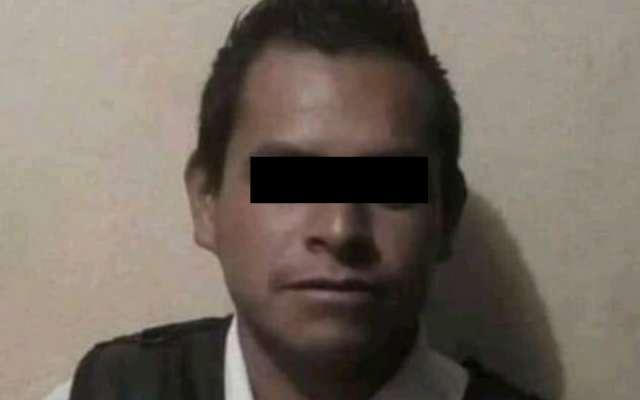 El presunto feminicida fue detenido por elementos de la Fiscalía en cumplimiento de una orden de aprehensión. FOTO: Especial