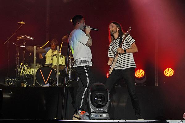 """Junto a Maroon 5 estarán Travis Scott y el originario de Atlanta, """"Big Boi"""" en el Estadio Mercedes-Benz. FOTO: CUARTOSCURO"""