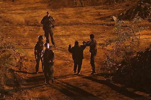 Entre los detenidos hay dos adolescentes. FOTO: REUTERS