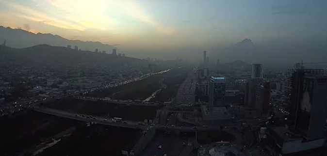 Imagen de la Ciudad de Monterrey. Foto:  webcamsdemexico