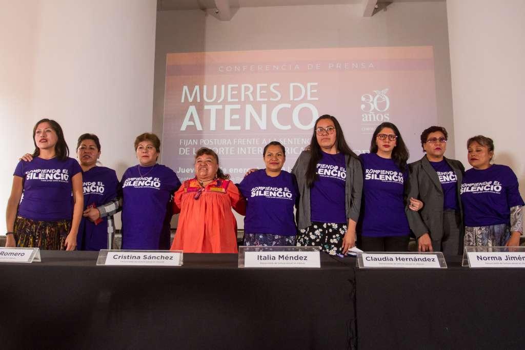 Mujeres y organizaciones se reunieron por caso Atenco. FOTO:CUARTOSCURO