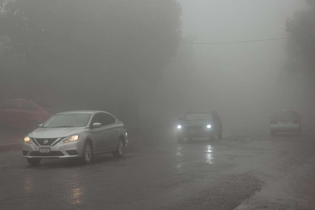 Por la neblina, Conagua recomendó a la población usar adecuadamente las luces del automóvil. FOTO: ARCHIVO/CUARTOSCURO