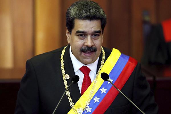 Nicolas_Maduro_Protesta