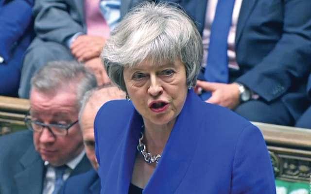 Theresa May pidió anteponer el