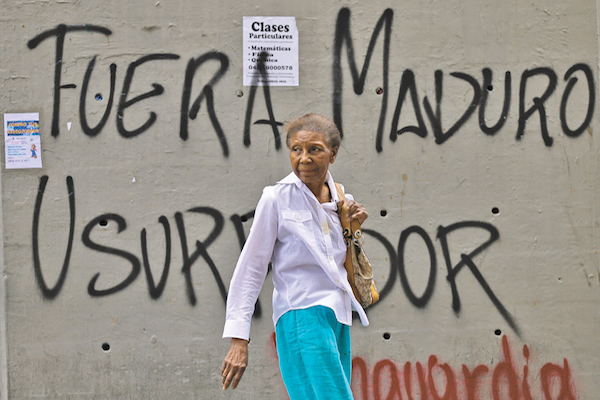 TRANSICIÓN. En Venezuela, la oposición busca convocar a elecciones