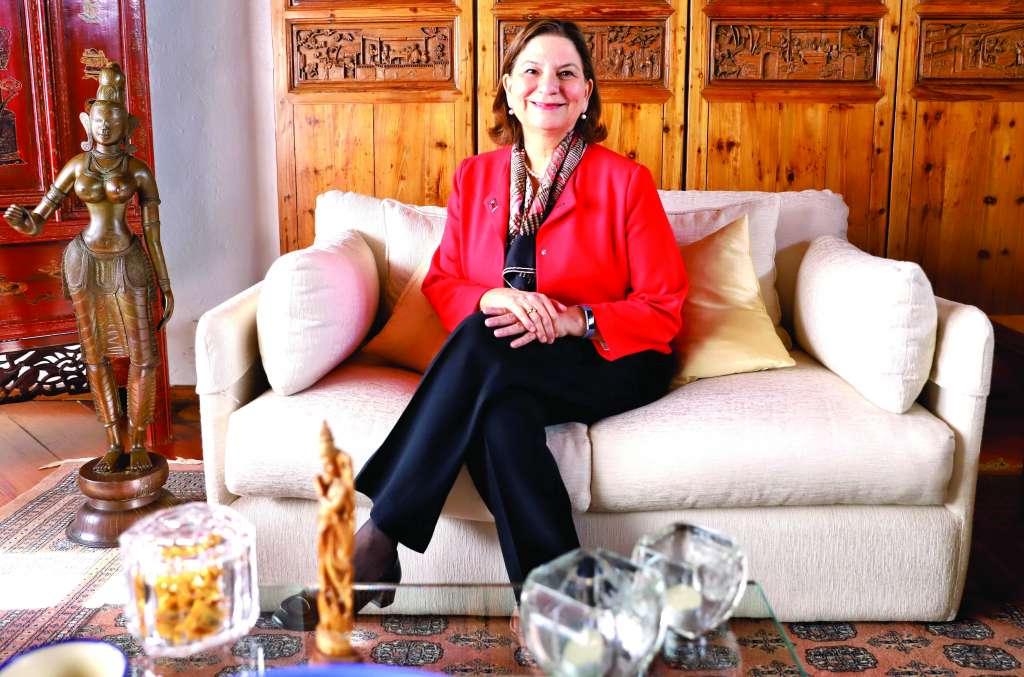 DIPLOMÁTICA. Martha Bárcena Coqui fue ratificada como embajadora de México en EU, el pasado 21 de diciembre. Foto: VÍCTOR GAHBLER