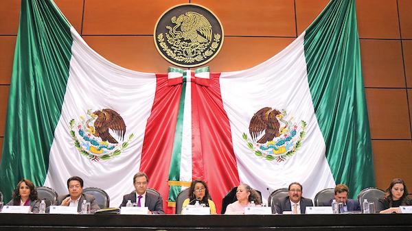 Esteban Moctezuma acudió a la Comisión de Educación de San Lázaro. Foto: Especial