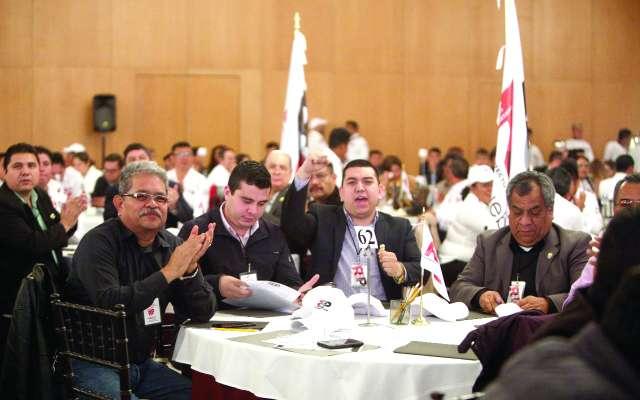 Acudieron delegados provenientes de todos los estados del país.