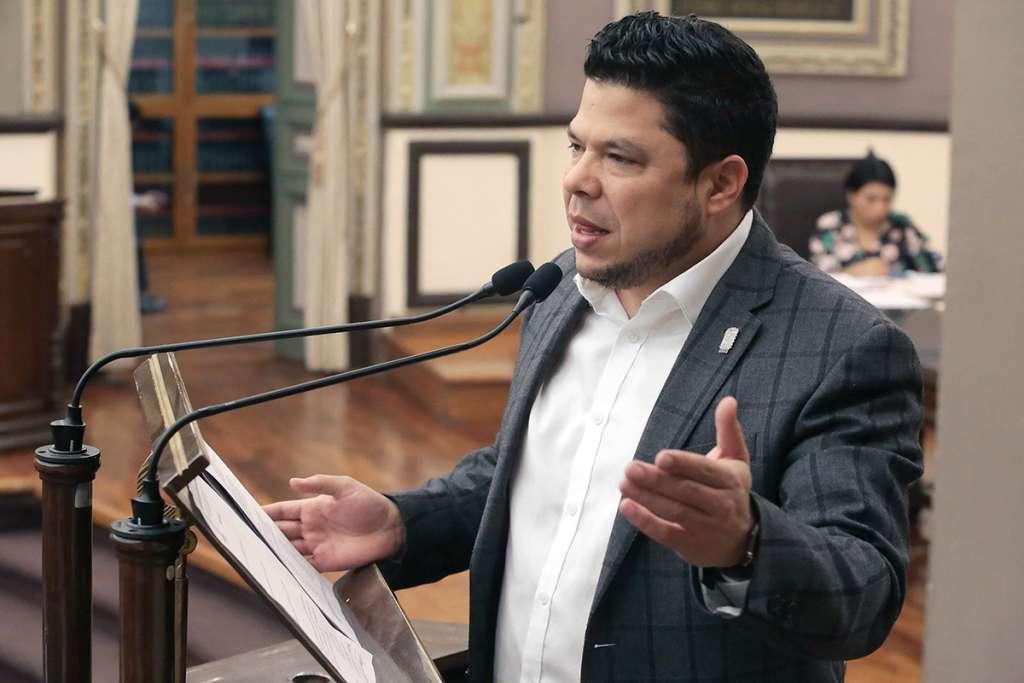 Gabriel Biestro es presidente de legisladores y líder de Morena en la entidad. Foto: Enfoque