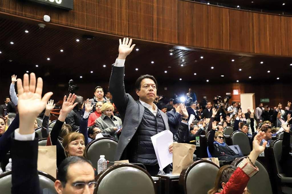 Mario Delgado, dijo que Morena busca traducir la democracia en hechos. Foto: Especial.