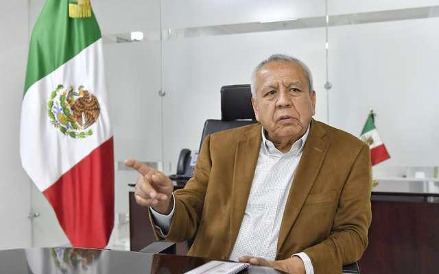 El funcionario federal fue titular de la Secretaría de Transporte con López Obrador, en la CDMX. Foto: Edgar López / El Heraldo de México.