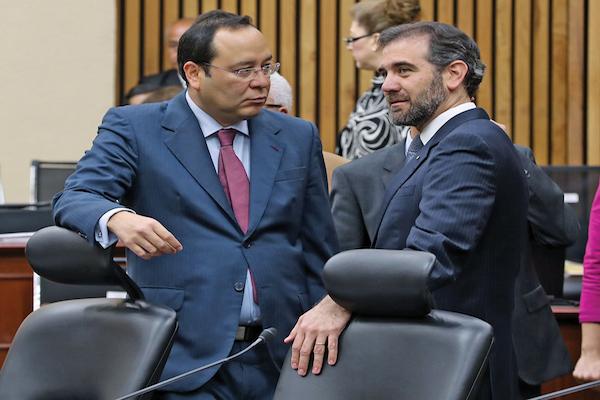 El presidente del INE, Lorenzo Córdova, entregó la controversia en el máximo tribunal del país. FOTO: INE /CUARTOSCURO.COM