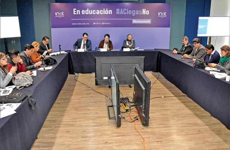 Teresa Bracho, presidenta del INEE, lanzó una campaña para evitar la opacidad en la entrega de plazas magisteriales. Foto: Especial.