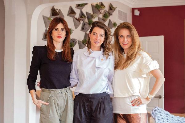 Galia Katz, Paola Reyner y Ale Garza. FOTOS: YAZ RIVERA