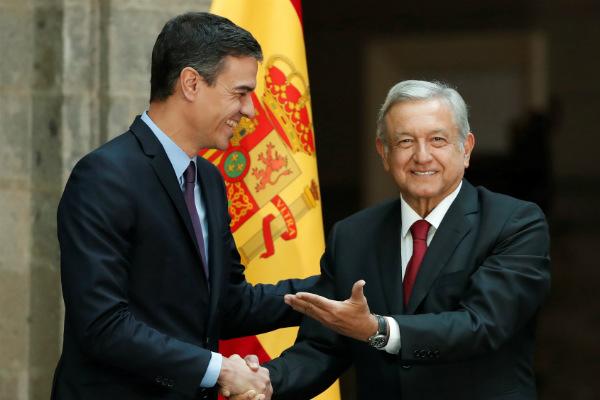 El presidente español hizo esta confesión durante una comida en elColegio de México