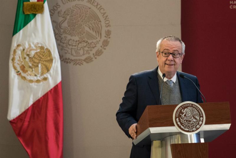 Carlos Urzúa, secretario de Hacienda y Crédito Público FOTO: Cuartoscuro