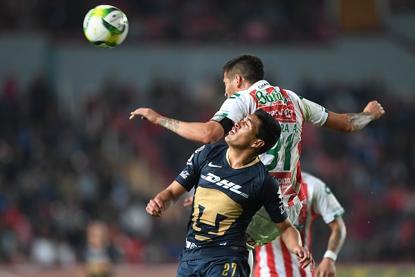 Foto del partido Necaxa vs Pumas correspondiente a la jornada 2 del Torneo Clausura 2019. Foto: Mexsport