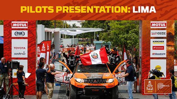 Presentación de pilotos y equipos en la capital peruana FOTO: ESpecial